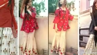 Latest gharara and sharara pants on Eid 2018