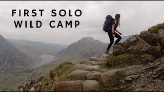 First Solo Wild Camp