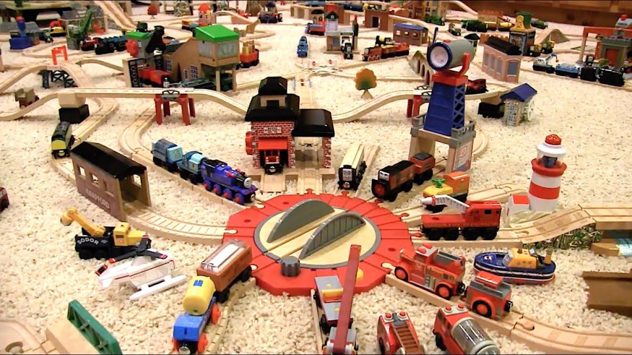 Thomas Wooden Railway Layout 11 Youtube