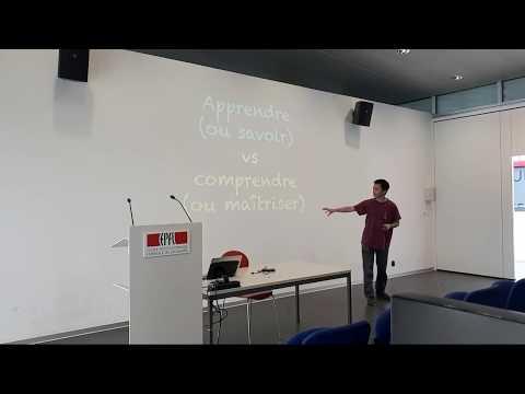Apprendre vs Comprendre   Conférence EPFL (IC)
