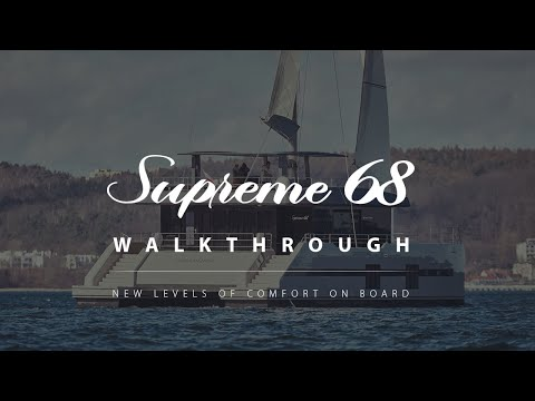 Yachting World on board the Sunreef 68 Supreme  in Cannes