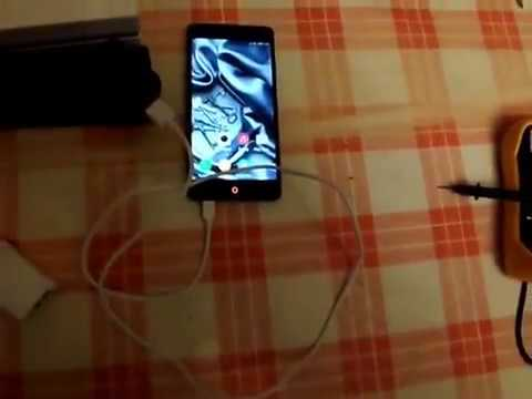 Comparison of the charger from the smartphone kit ZTE Nubia Z7 Max and  Alcatel One Touch 2012D