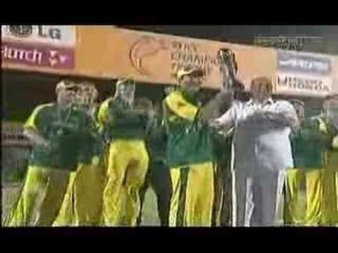 Australian Team Pushing Pawar (BCCI President)