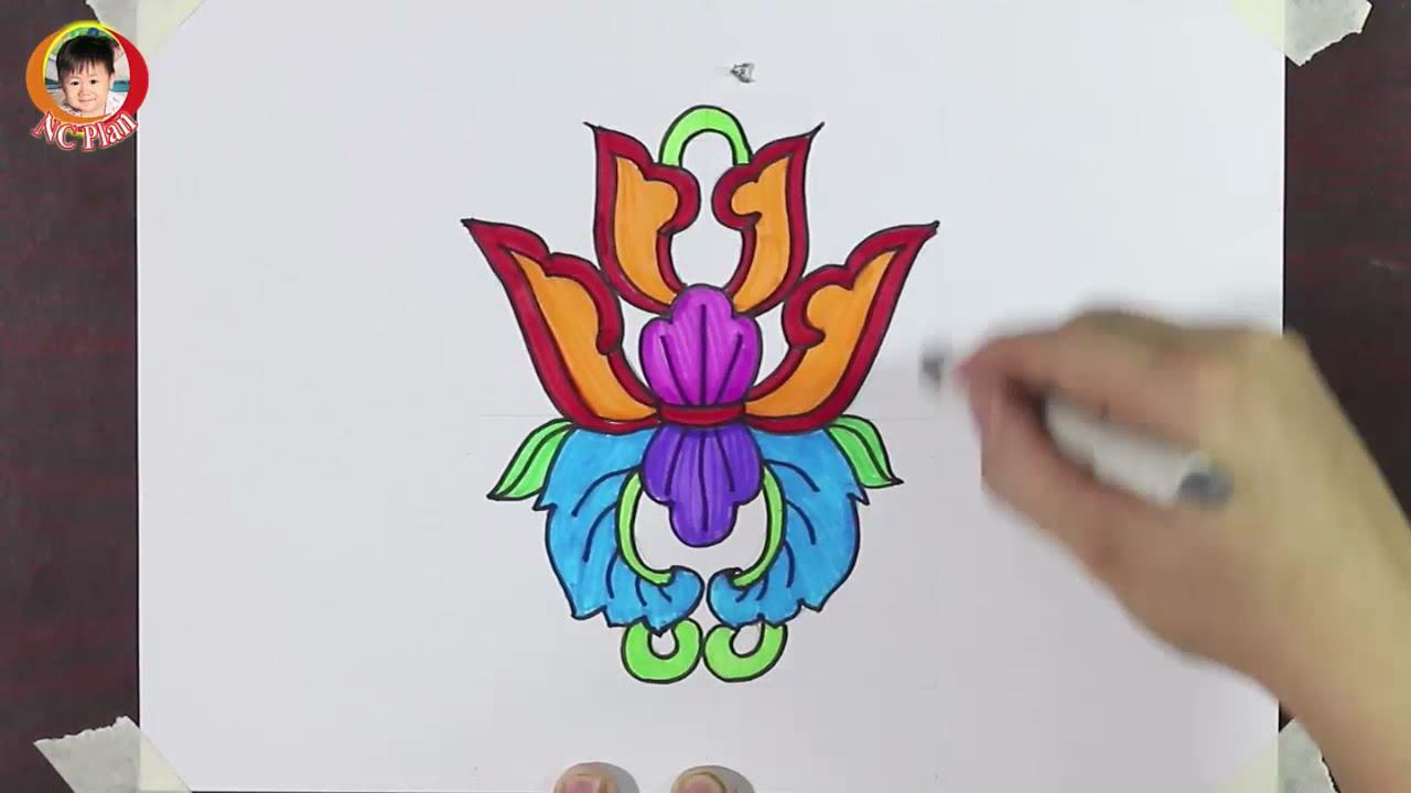 Cách vẽ họa tiết cổ dân tộc từng bước / Vẽ họa tiết hoa lá / NC Plan nc planvẽ nghệ thuật   Bao quát các thông tin liên quan đến ve hoa tiet dan toc chuẩn nhất