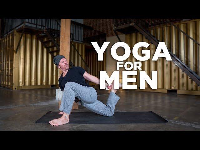 YOGA for MEN - Tight Hips Yoga Flow with Billy Potocnik