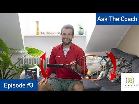 Ask The Coach #3 | Schläger, Saiten Und Anderes | Tennis Mastery