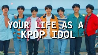 Gambar cover IMAGINE YOUR LIFE AS A KPOP IDOL (eng+fr)