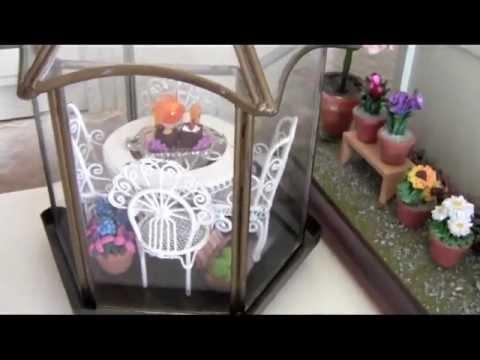 Tour My Dollhouse Miniature Garden!