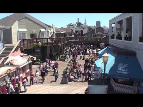 Long Beach to Seattle 2010-4: San Fancisco Fisherman's Wharf, cable car ride