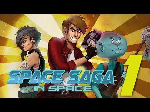 Space Saga (In Space) – Pilot: LASER DIPLOMACY – Sci-Fi Comedy Adventure