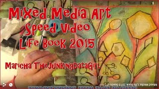 Mixed Media: Life Book 2015 Seeds of Love