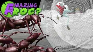 SPACE ANTS vs ZORB - Amazing Frog - Part 103 | Pungence