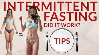 1 WEEK of Intermittent Fasting | My Thoughts, Tips + Before After Results