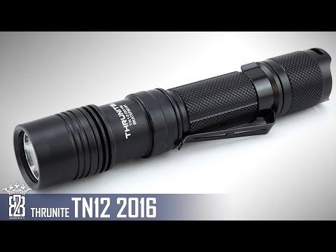 * Flashlight * ThruNite TN12 2016 Taschenlampe Review
