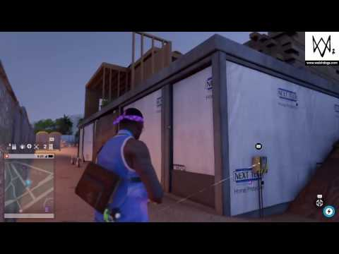 Watch Dogs 2 Money Bag Inside The House Under Construction Near Stanford University & Nudle