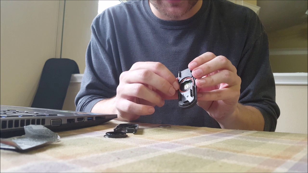 How To Replace Mazda6 Key Fob Battery Youtube