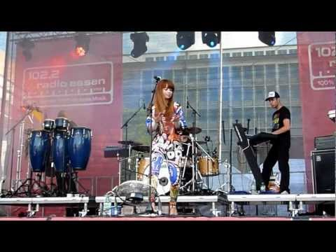Aura Dione - Live Konzert in Essen - 22. Juli 2012 - Radio Essen Party