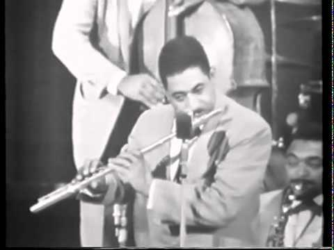 "Count Basie, ""Cute"" (Hefti) featuring Frank Wess on flute"