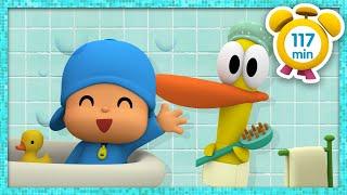 🛁 POCOYO em PORTUGUÊS do BRASIL - É hora do banho! [117 min]   DESENHOS ANIMADOS para crianças
