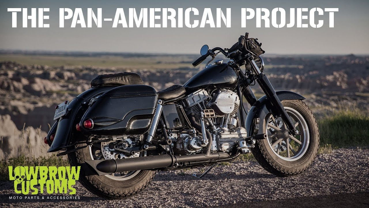 The Pan-American Project: Coast-to-Coast with Lowbrow Customs and S&S Cycle