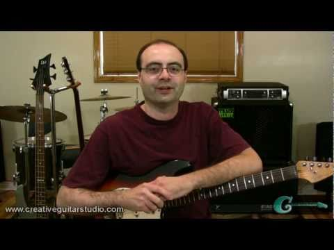 FINGERSTYLE GUITAR: Fingerpicking on Electric Guitar