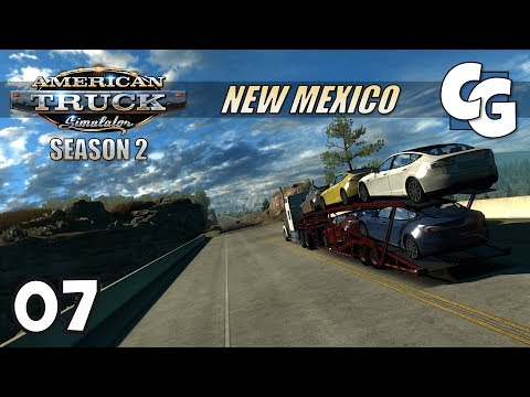 ATS S02E07 - Secret Forest Road - American Truck Simulator New Mexico Let's Play
