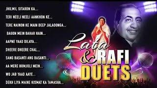 Mohammad Rafi & Lata Mangeshkar - Best Duet Songs Jukebox - Old Hindi Songs Collection