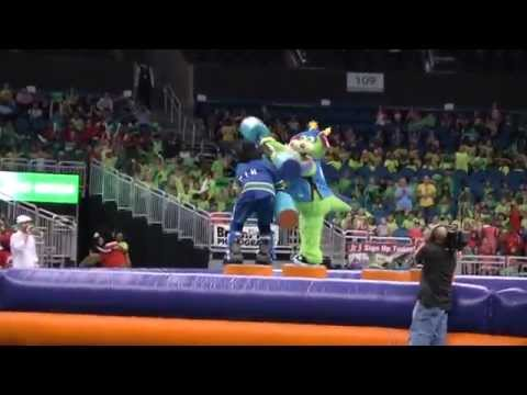 21st Annual Mascot Games at Amway Center (2014) - Part 1