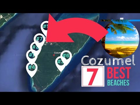 7 Best Beaches in Cozumel Near Cruise Port