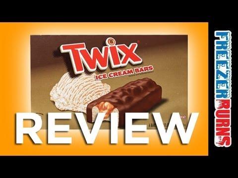Twix Ice Cream Bar Review: Freezerburns (Ep590) - YouTube