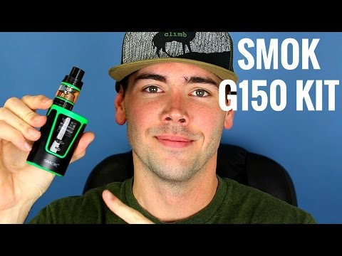Smok G150 Internal Battery Kit W/ TFV8 Big Baby Beast | 150 Watt Internal Battery Mod From Smok!!