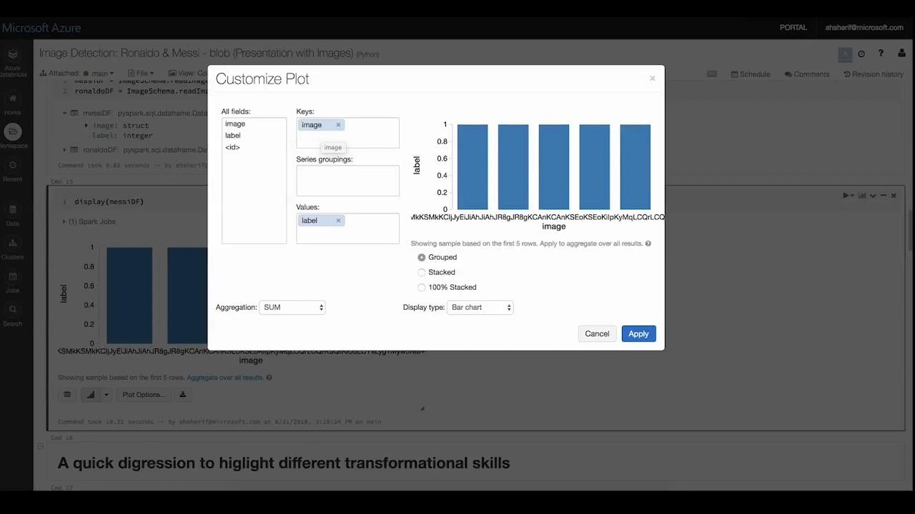 Microsoft Azure Databricks Machine Learning Demo