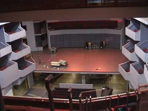 Derngate - format changeover from Lyric Theatre to Concert Hall in 5 minutes