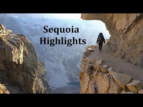 Backpacking Sequoia 4K Highlights: Kaweah Gap/Hamilton Lakes/Black Rock Pass