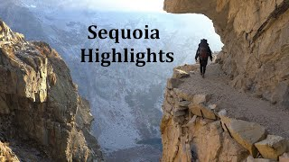 Backpacking Sequoia 4K Highlights: Kaweah Gap/Hamilton Lakes/Black Rock Pass