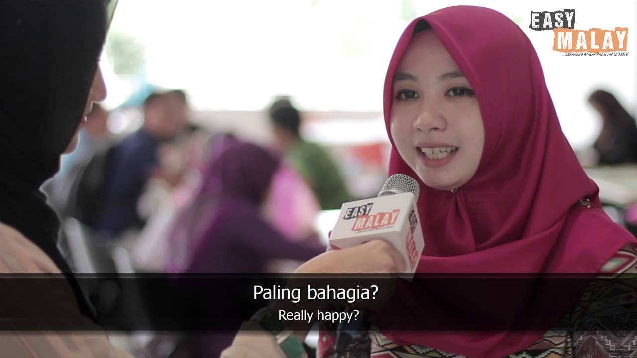 Easy Malay 9 - What makes you happy?