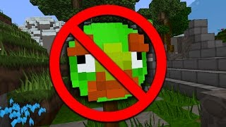 ANGRY BIRDS MODDED CHALLENGE! (Minecraft)