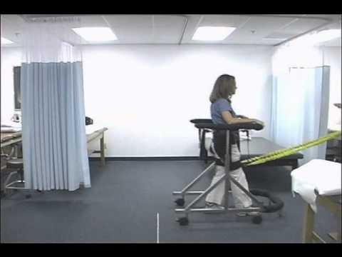 Walking Again with the Second Step Gait Harness System - YouTube
