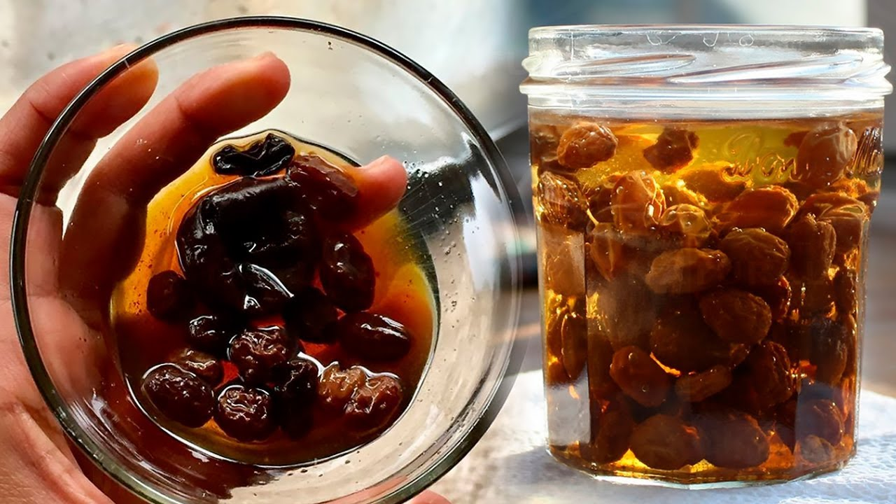 Drink Raisin Water Daily On Empty Stomach to Get These Benefits!