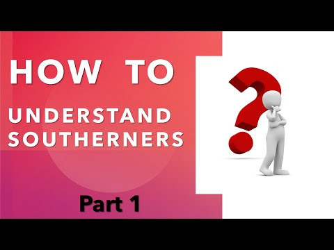How To Speak Southern - Lesson #1