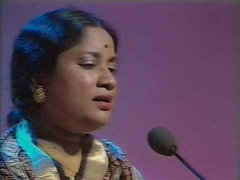 Vani Jairam Live  Manasa Sancharare