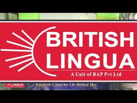 Spoken English Training by Dr Birbal Jha 02
