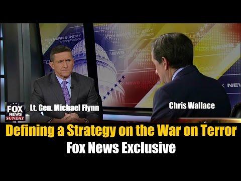 Fox News Exclusive: Lt. Gen. Michael Flynn (Ret.) Interviewed by Chris Wallace on Fox News Sunday