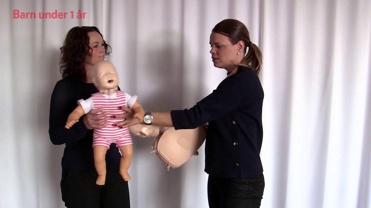 Download Första hjälpen: Om ett barn sätter i halsen