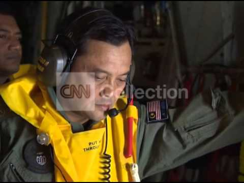 MALAYSIA: MISSING PLANE - AERIAL SEARCH (TUES)
