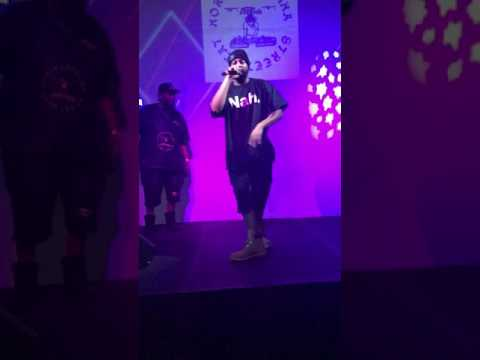 "2017 LIVE PERFORMANCE of hip hop ""CHOCOLATE THAI(JOE GAS & NCSH)"" at MIAMI LIVE club by JONNOTTY!!!!"