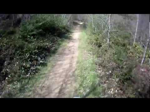96 Honda XR250 Trail Riding on Whidbey