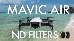 ND Filter Review for Video - Mavic Air