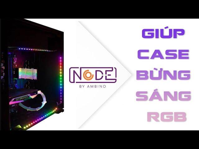 Review Led dán Case Ambino Node