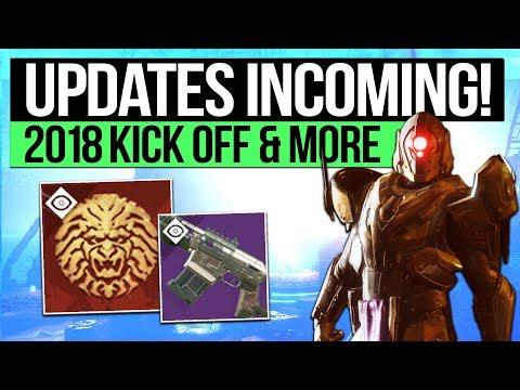 Destiny 2 News | Bungie's 2018 Return, Events Update, D2's 16 Month Reboot & Vendor Weapon Refresh!